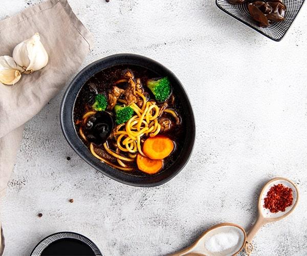 Supa cu noodles Mian-Tan